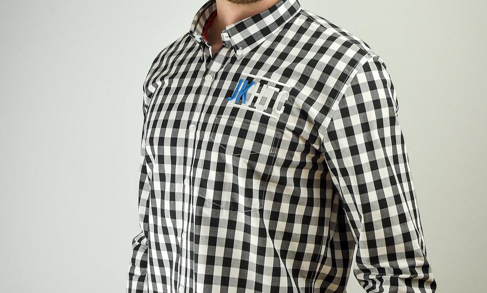 FR500 Long Sleeved Check Cotton Shirt