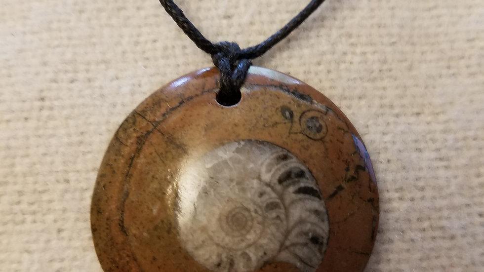 Fossil (Ammonite) Pendant
