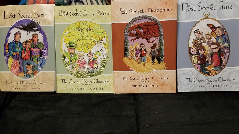 The Crystal Keeper Chronicles-All 4 Books Special