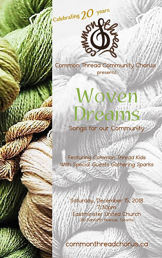 Woven Dreams Programme - Dec. 2018 - COL