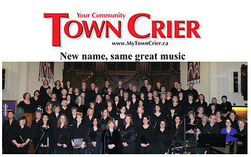 Voca Chorus - Town Crier naming piece CO