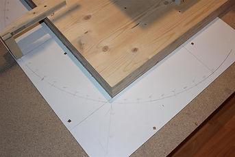 Messung der Wiedergabekurve unter Winkel