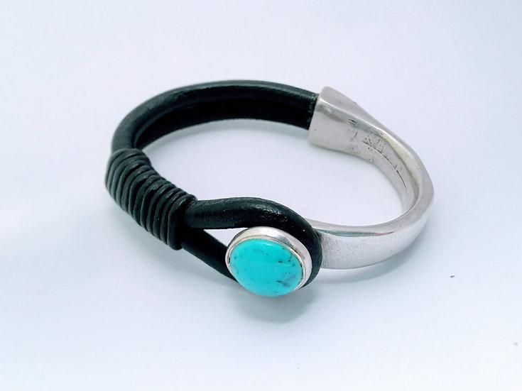 turquoise half cuff