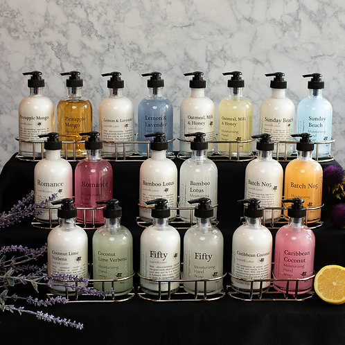 SIMPLIFIED - Hand Care Duo- Lotion, Hand Soap with Kitchen Caddy