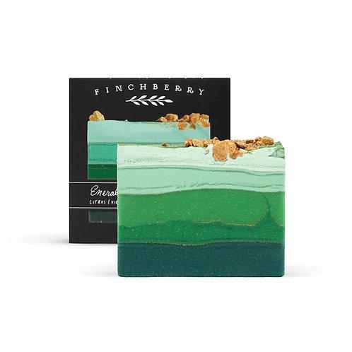 FINCHBERRY - Emerald Bar Soap