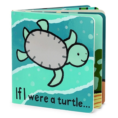 JellyCat Book - If I Were a Turtle