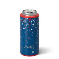 Swig 12oz Skinny Can Cooler - Star Burst