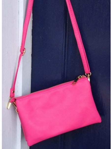 Crossbody Purse - Hot Pink