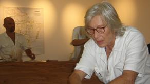 Memorial da América Latina recebe obra da artista Maria Bonomi
