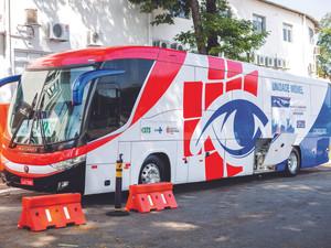 Ônibus laboratório passa a realizar teste de Covid em Congonhas