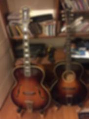 1947 Gibson L-5 - 1932 Gibson L-4.jpg