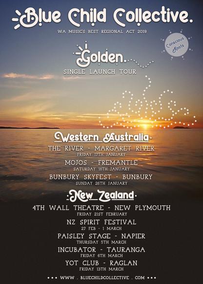 GOLDEN Single Launch Tour