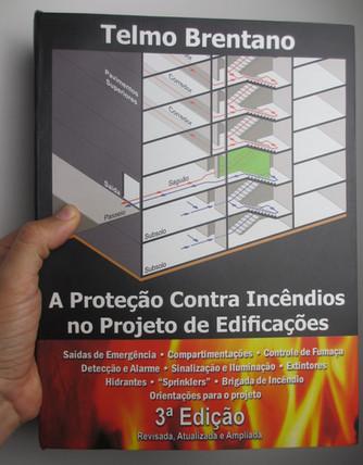 Livro sobre Proteção contra Incêndios