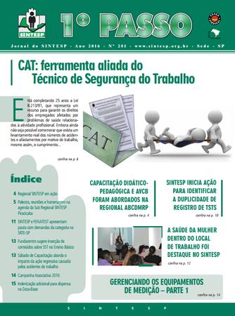 Jornal do SINSTESP, n. 281
