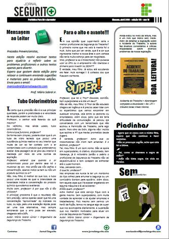 Edição Jornal Segurito nº 115 - Abril 2016