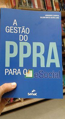 Livro A Gestão do PPRA para o eSocial