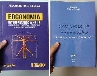 Livros sobre Ergonomia