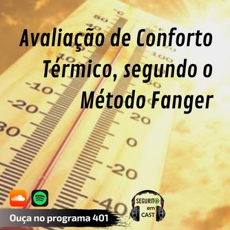 # 401 - Avaliação de conforto térmico, segundo método de Fanger