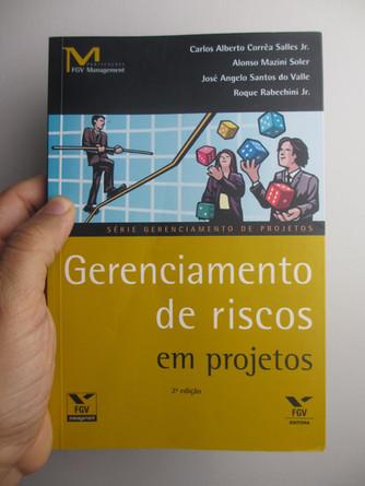 Livro sobre Gerenciamento de Riscos