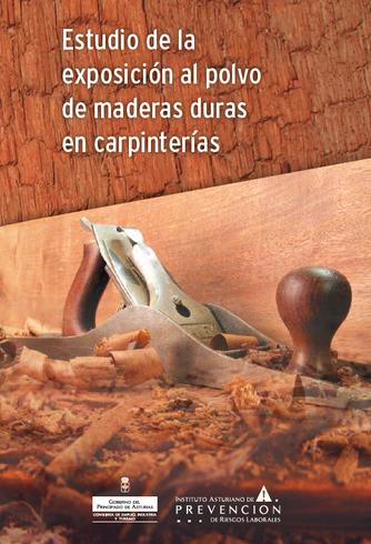 Livro sobre exposição a poeiras em carpintarias