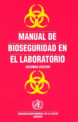 Manual de bioseguridad en el laborat
