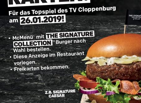 Freikarten für das Topspiel des TV Cloppenburg am 26.01.2019!
