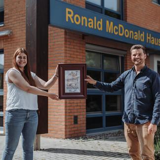 Besuch beim Ronald McDonald Haus in Leipzig