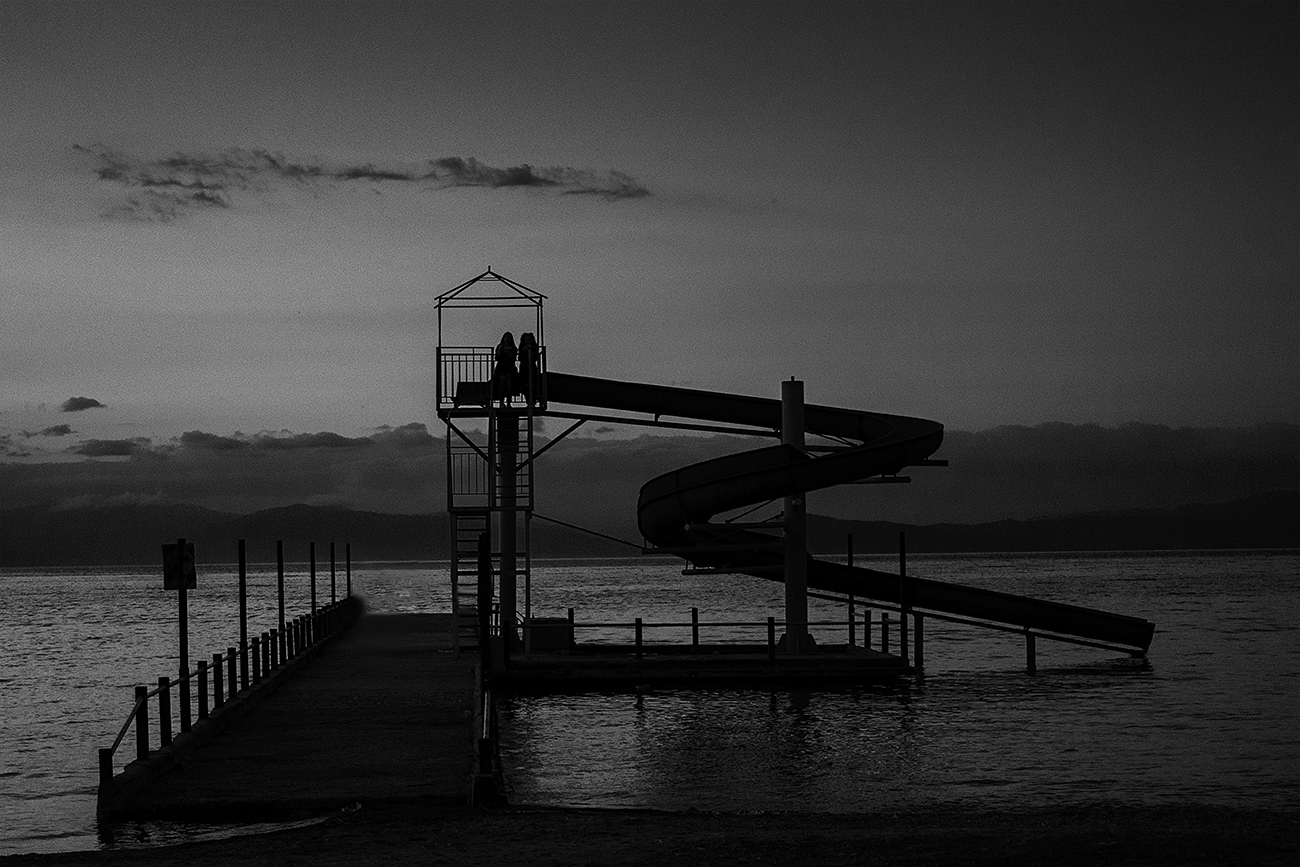 Pogradec, Lake Ohrid, Slide