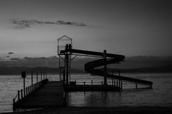 Pogradec, Lake Ohrid, Slide