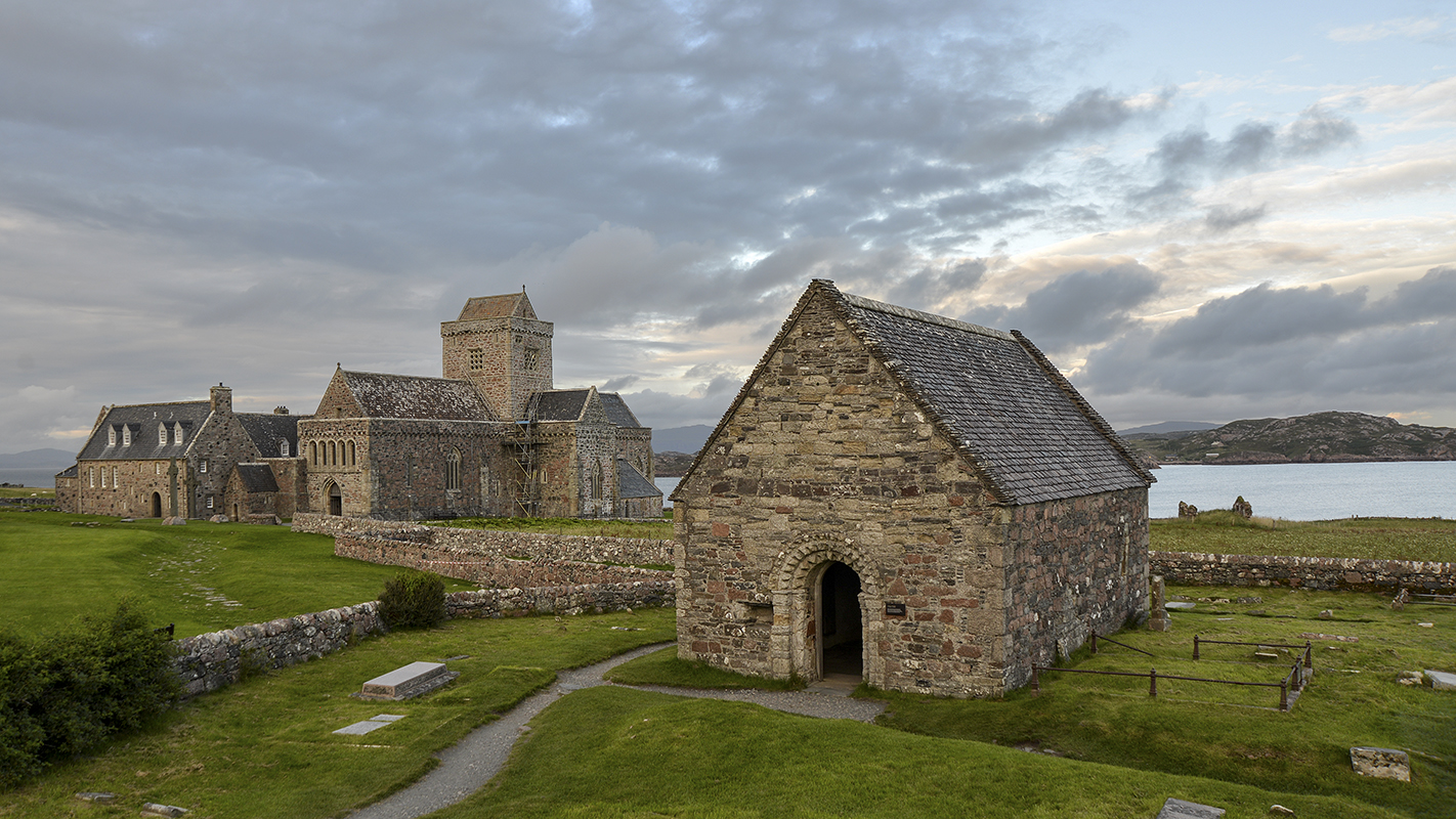 Abbey, Iona (Scotland)