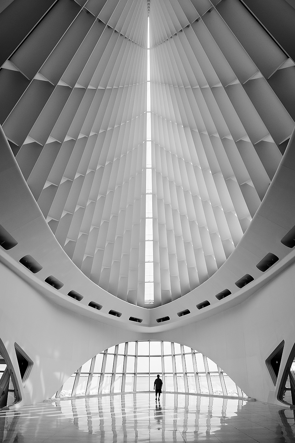 Milwaukee Art Museum, extension (Calatrava design)