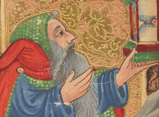 VIIII - L'homme à la barbe