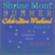 summer celebration weekend color square-