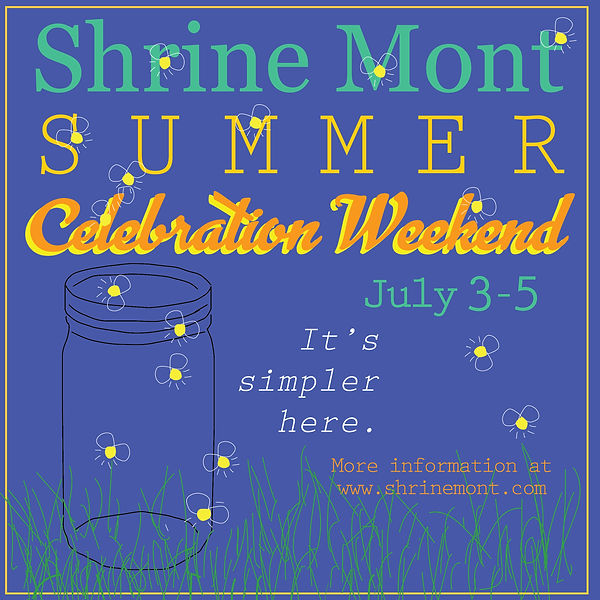 summer celebration weekend color square-