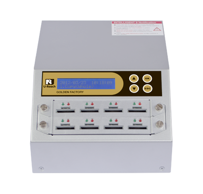 Intelligent 9 Golden Series- Combo SD/MicroSD Card Duplicator and Sanitizer