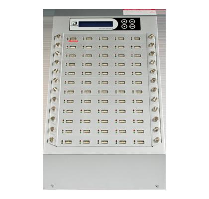 Intelligent 9 Silver Series- USB Duplicator and Sanitizer