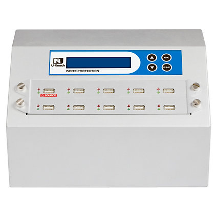 Intelligent 9 Write Protection Series- USB Duplicator and Sanitizer