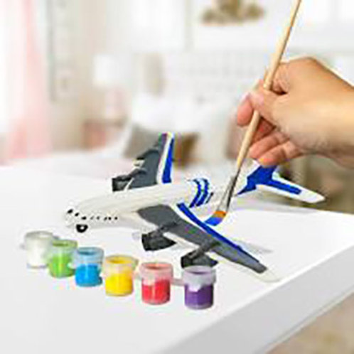 Build and Paint Jumbo Jet