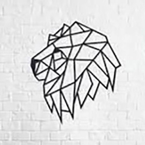 Lion in Profile Wall Puzzle