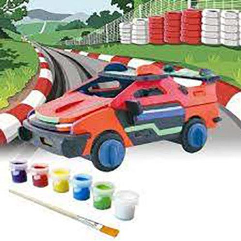 Build & Paint Race Car