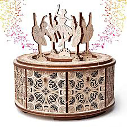 Woodtrick Ballerina Music Box