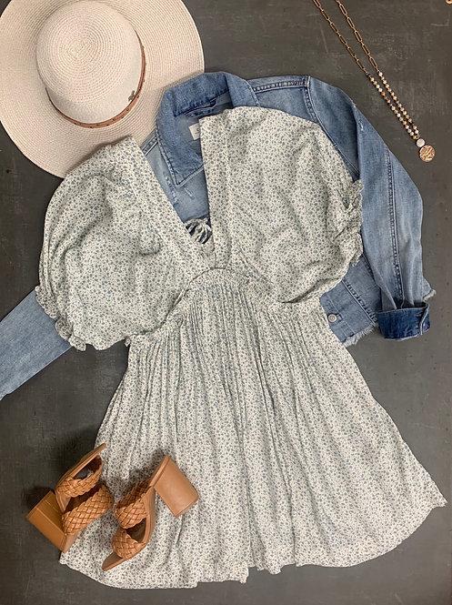 babydoll dolman mini dress