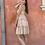Thumbnail: swiss dot tier mini dress