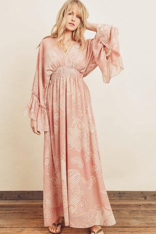 henna maxi dress