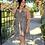 Thumbnail: halter cinch mini dress