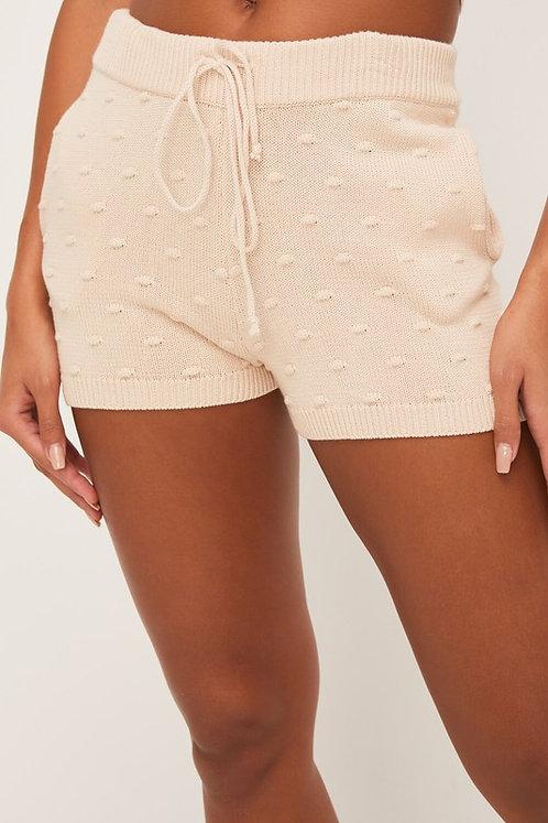 pucker draw string shorts