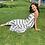 Thumbnail: stripe panel tier maxi dress