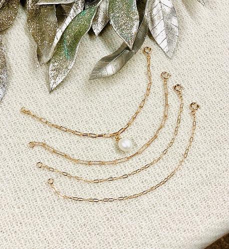 set of 4 chain bracelets