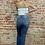 Thumbnail: super high rise distress jeans