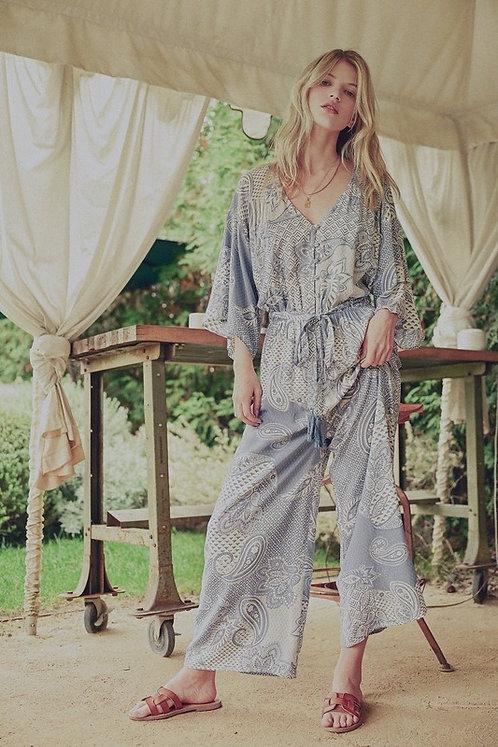 paisley kimono jumper